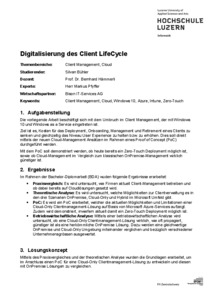 Bild:  WebAbstract Digitalisierung des Client LifeCycle