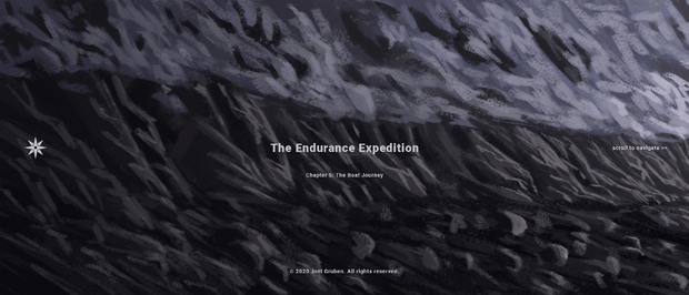 Bild:  Endurance Expedition als Webcomic