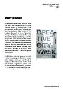 Bild:  Creative City Walk