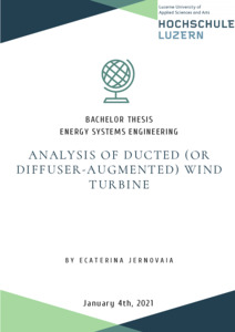 Bild:  Analysis of the ducted (or diffuser augmented) wind turbines