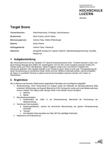 Bild:  Web-Abstract Target Score
