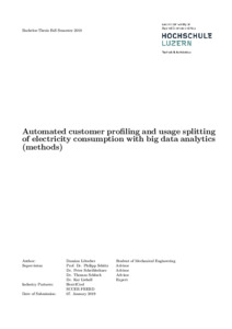 Bild:  Automated customer profiling and usage splitting of electricity consumption with big data analytics (methods)